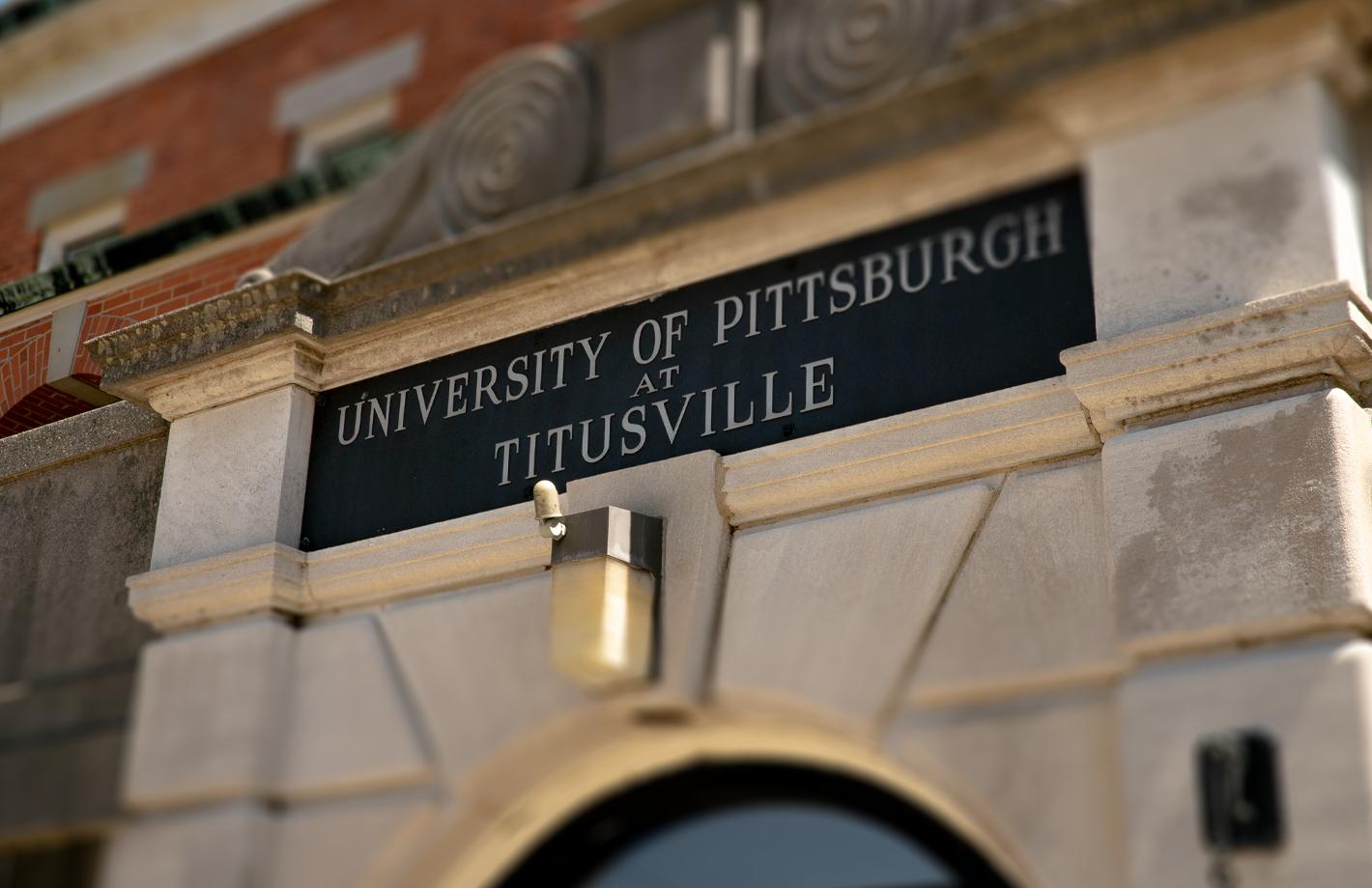 Pitt Titusville